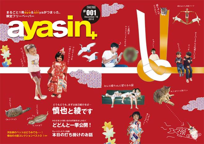プロフィールパンフレット/ayasin+