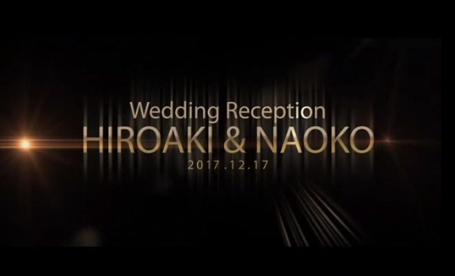結婚式 オリジナル オープニングビデオ