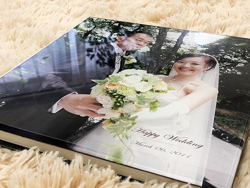 結婚披露宴高級アルバム制作