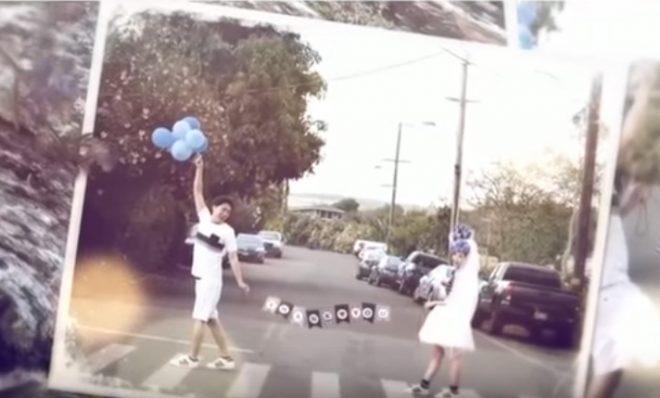 【紹介】海外挙式の映像や写真を使用したオシャレなオープニングビデオ