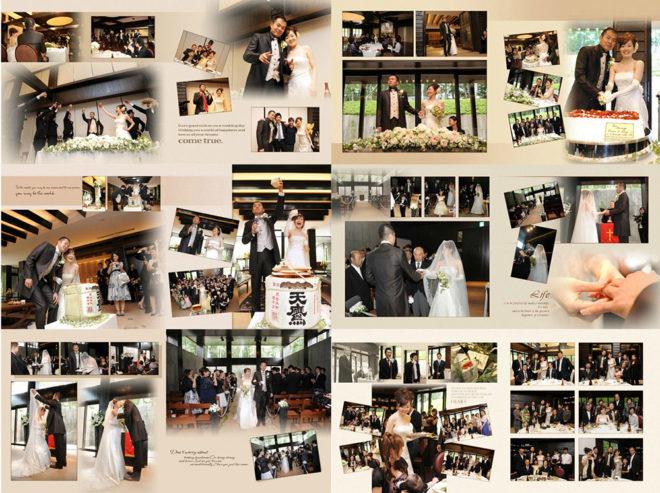 結婚式・披露宴の当日スチール撮影(デザインアルバム付)