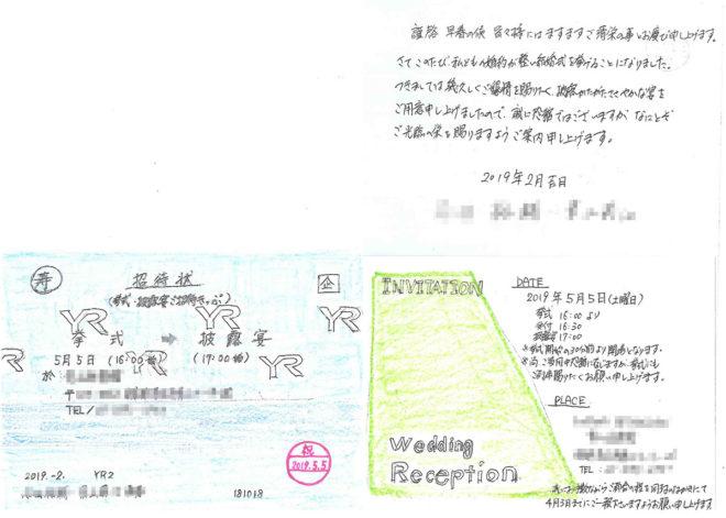 電車切符風結婚式招待状制作ガイド